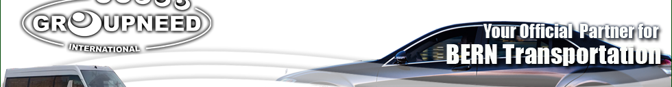 Airport transfer to Bern with Limousine / Minibus / Helicopter / Limousine